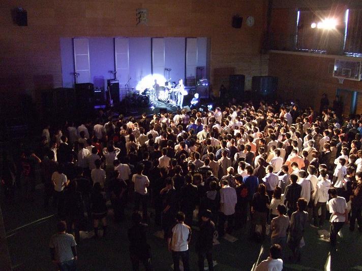 12、平成19年度 文化祭ライブ